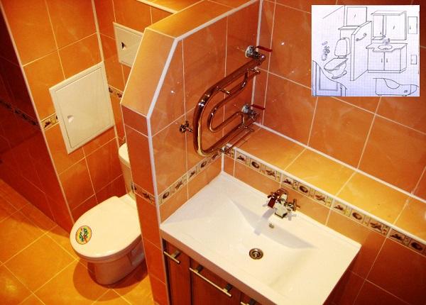 Своими руками совмещенные ванна туалет