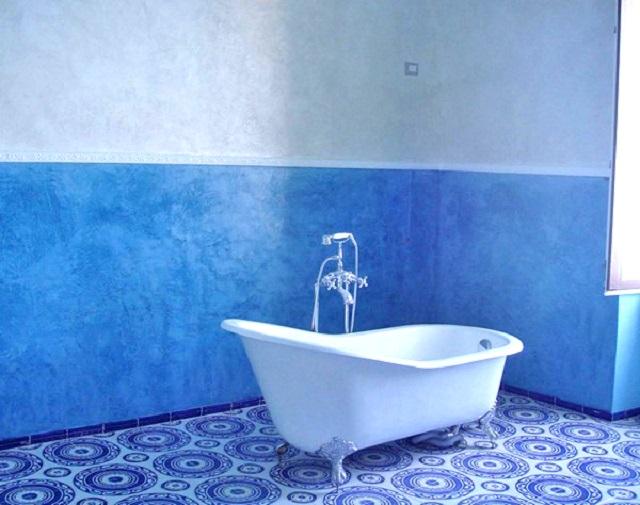 Ремонт покраска в ванной комнате своими руками