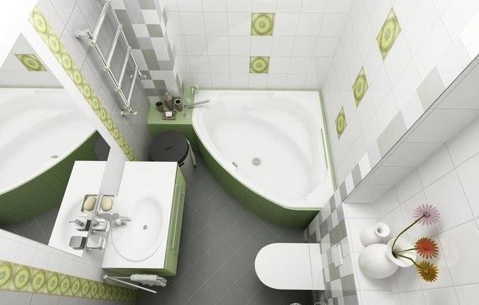 Ванная комната дизайн фото 5 кв м с