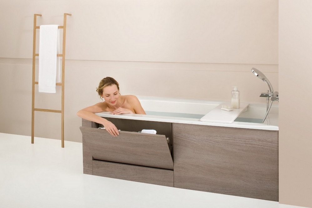 Как сделать экран на ванну