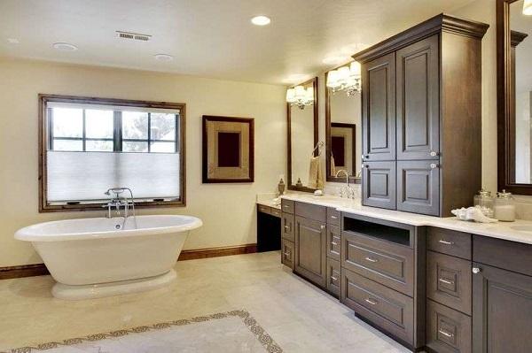деревянная мебель для ванной комнаты ваннаправдару