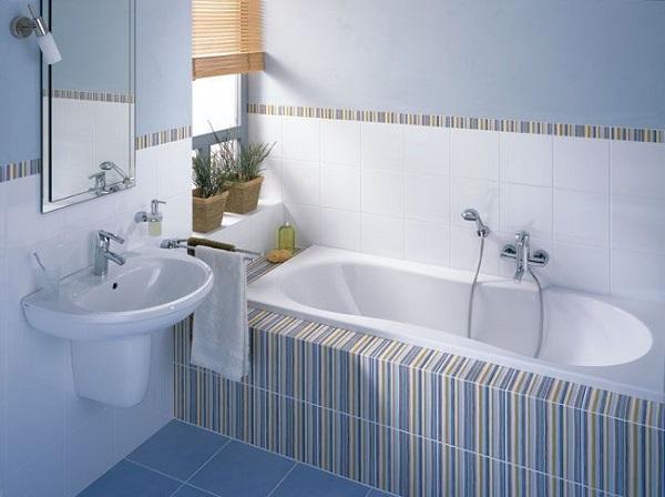Бюджетный дизайн ванн