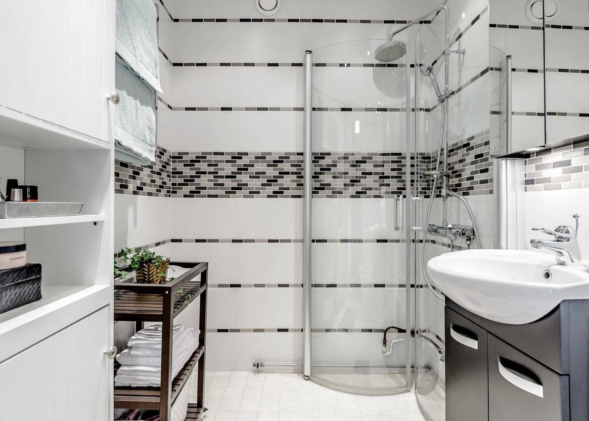 Фото модный кафель для ванной